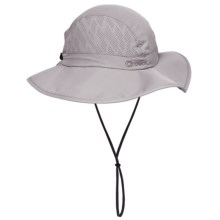 Chaos Trekking Sun Hat - UPF 50+ (For Men and Women) in Light Grey - Closeouts
