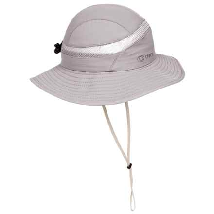 Chaos Walk About Hat - UPF 50+ (For Women) in Light Grey - Closeouts