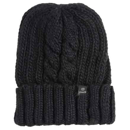 Chaos Wishii Knit Beanie (For Men and Women) in Black - Closeouts