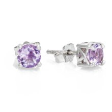 Chapal Semi-Precious Stone Earrings in Amethyst - Closeouts