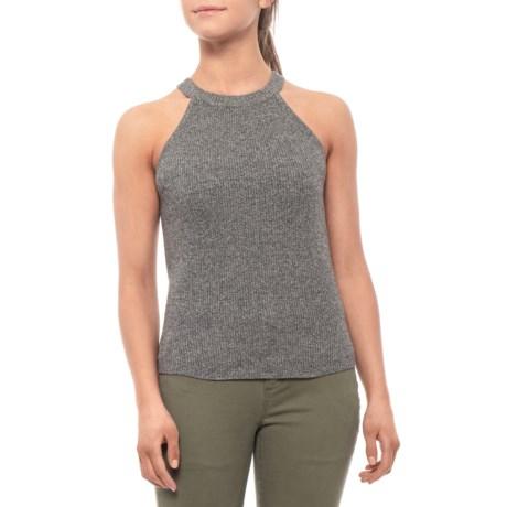 Image of Charcoal Pyper Sweater - Organic Cotton, Sleeveless (For Women)