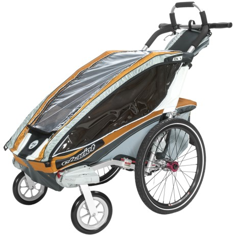 Chariot CX1 Elite Performer Stroller - 1-Child in Copper