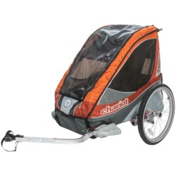 Chariot Deluxe Commuter 1 Child Bike Trailer in Apricot
