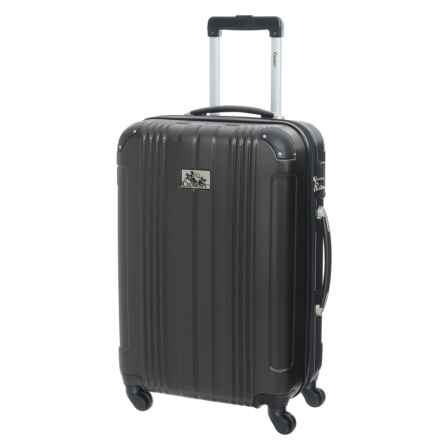 """Chariot Travelware 20"""" Monet Spinner Carry-On Suitcase in Black - Closeouts"""