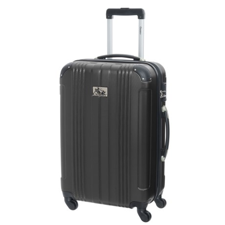 "Chariot Travelware 20"" Monet Spinner Carry-On Suitcase in Black"
