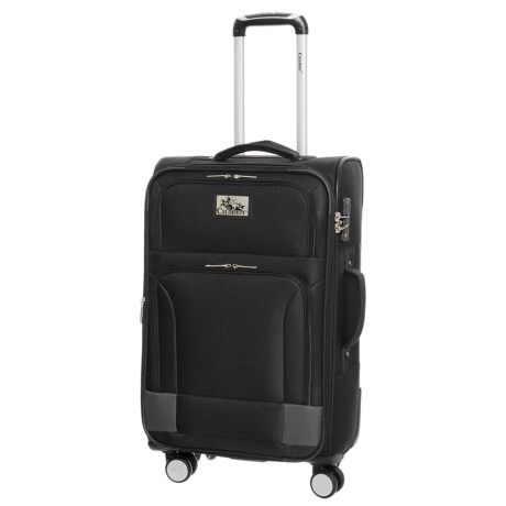 "Chariot Travelware 24"" Naples Spinner Suitcase in Black"