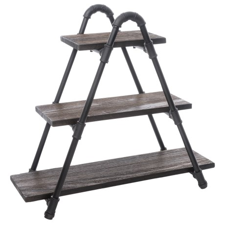 Image of Charleston Industrial Display Bookcase
