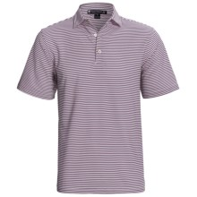 Chase Edward Chase Stripe High-Performance Polo Shirt - Short Sleeve (For Men) in Wisteria - Closeouts