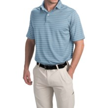 Chase Edward Cole Polo Shirt - Short Sleeve (For Men) in Blue/White - Closeouts