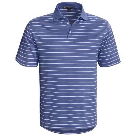 Chase Edward Cole Polo Shirt - Short Sleeve (For Men) in Dutch Blue