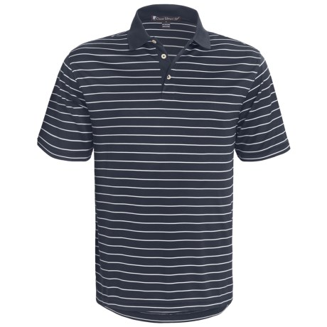Chase Edward Cole Polo Shirt - Short Sleeve (For Men) in Navy