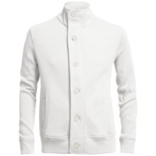 Chase Edward Cotton Knit Jacket (For Men) in Garrett White - Closeouts