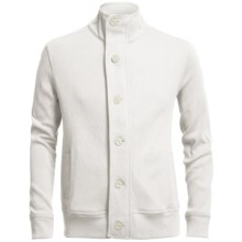Chase Edward Cotton Knit Jacket (For Men) in Ivory - Closeouts