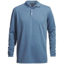 Chase Edward Golf Polo Shirt - Long Sleeve (For Men) in Slate Blue - Closeouts