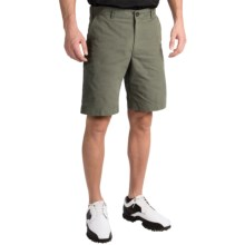 Chase Edward Solid Golf Shorts (For Men) in Olive - Closeouts