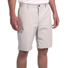 Chase Edward Solid Golf Shorts (For Men) in Stone - Closeouts