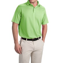 Chase Edward Solid High-Performance Polo Shirt - Short Sleeve (For Men) in Green - Closeouts