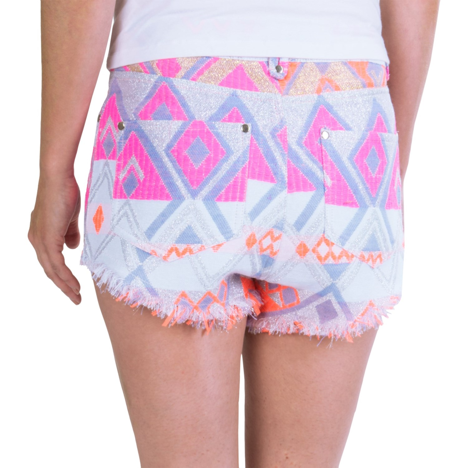High Waisted Shorts are all the rage right now and it isn't any different in the EDM scene. We carry top ravewear brands that have creatively taken this stylish trend brought back from the 90's and added to it the EDM flair it needed.