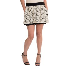 Chaser Mini Skirt - Lace Front (For Women) in Black Natural Lace - Closeouts