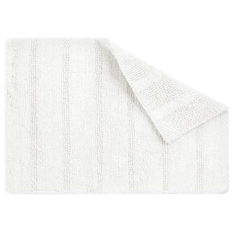 """CHD Home Bahia Cotton Bath Rug - Reversible, 17x24"""""""