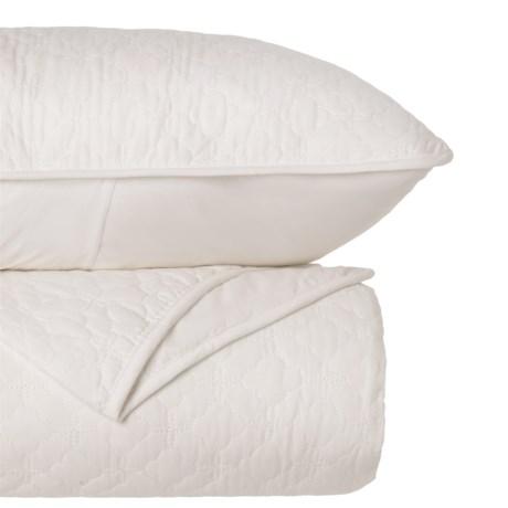 CHD Home Lance Quilt Set - Full-Queen in White