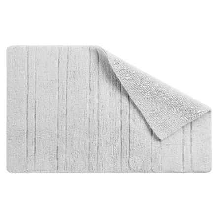 "CHD Home Rio Cotton Bath Rug - Reversible, 21x32"" in White - Overstock"