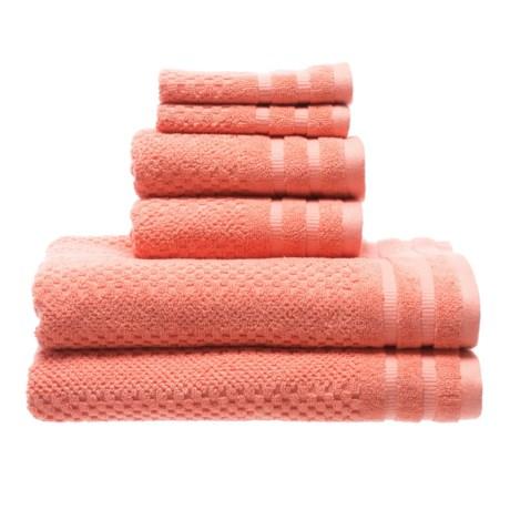 Image of Checkerboard Bath Towel Set - 6-Piece