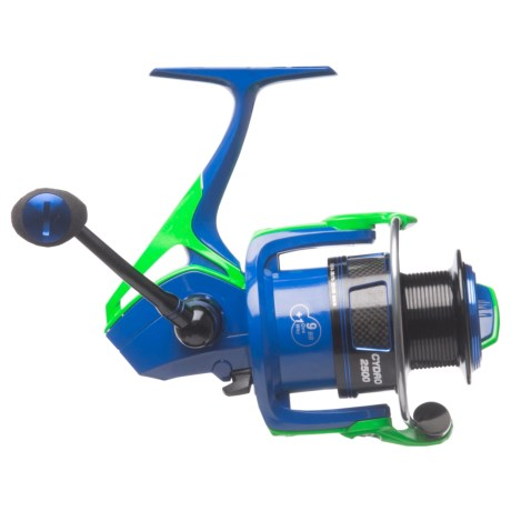 Cheeky Fly Fishing Cheeky Fishing Cydro 2500 Spinning Reel in Blue/Green/Black