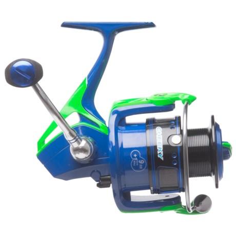 Cheeky Fly Fishing Cheeky Fishing Cydro 3500 Spinning Reel in Blue/Green/Black