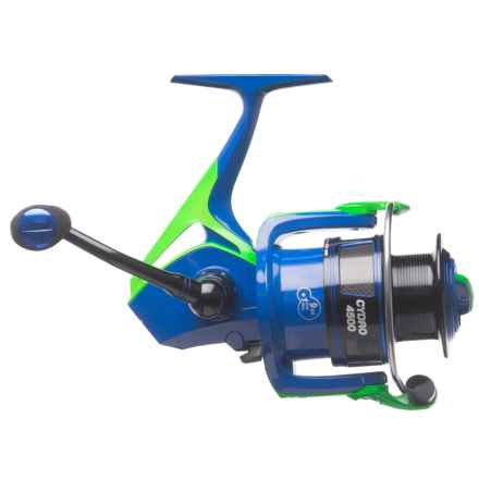 Cheeky Fly Fishing Cheeky Fishing Cydro 4500 Spinning Reel in Blue/Green/Black - Closeouts