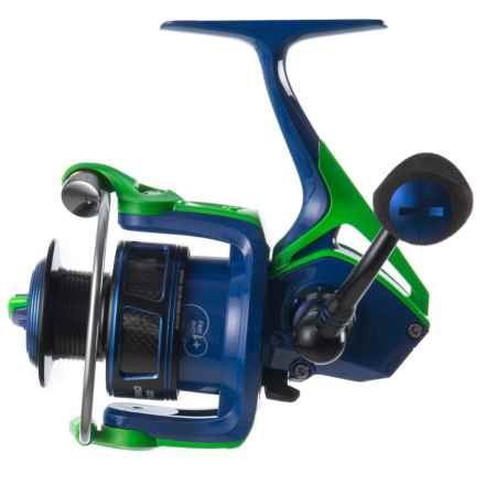 Cheeky Fly Fishing Cydro 1500 Spinning Reel in Blue/Green/Black - Closeouts