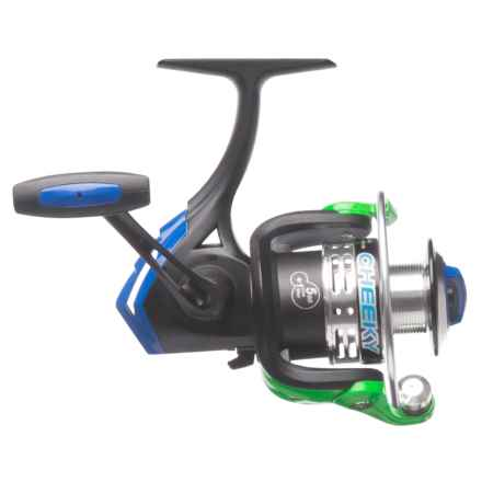 Cheeky Fly Fishing FLOTR 1500 Freshwater Spinning Reel in Black/Blue/Green - Closeouts