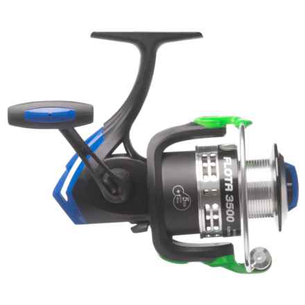 Cheeky Fly Fishing FLOTR 3500 Freshwater Spinning Reel in Black/Blue/Green - Closeouts