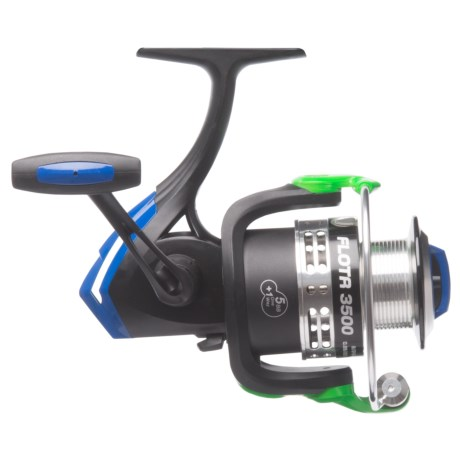 Cheeky Fly Fishing FLOTR 3500 Freshwater Spinning Reel in Black/Blue/Green