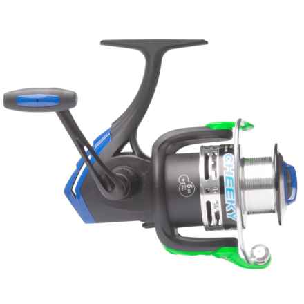 Cheeky Fly Fishing FLOTR 4500 Freshwater Spinning Reel in Black/Blue/Green - Closeouts