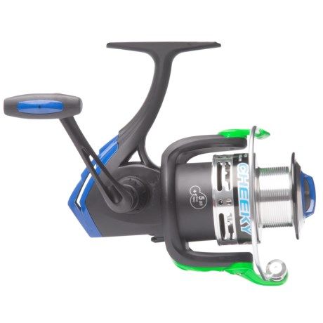 Cheeky Fly Fishing FLOTR 4500 Freshwater Spinning Reel in Black/Blue/Green