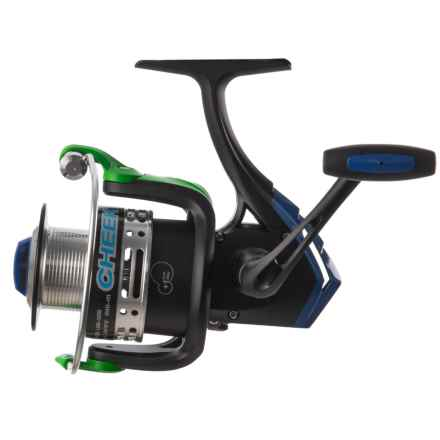 Cheeky Fly Fishing FLOTR 5500 Freshwater Spinning Reel in Black/Blue/Green - Closeouts