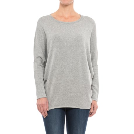 Chelsea and Theodore Dolman-Sleeve Sweatshirt (For Women)