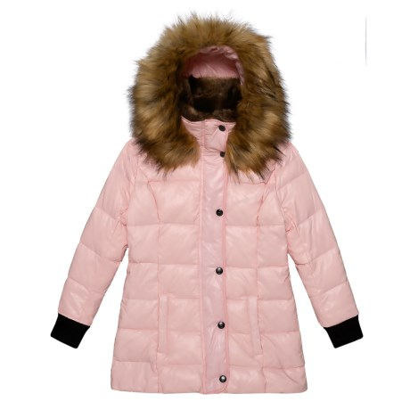 Image of Chelsea Bubble Down Jacket - Insulated (For Toddler and Little Girls)