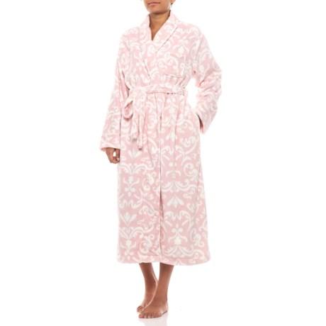 Image of Chenille Ballet Wrap Robe (For Women)
