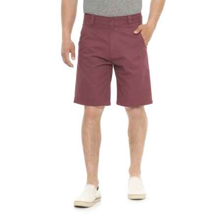 97d2311a2e Cherokee Twill Walking Shorts (For Men) in Brick Red - Overstock
