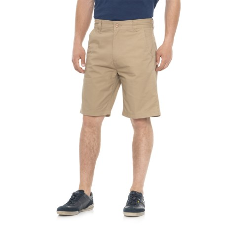 Cherokee Twill Walking Shorts (For Men) in Khaki