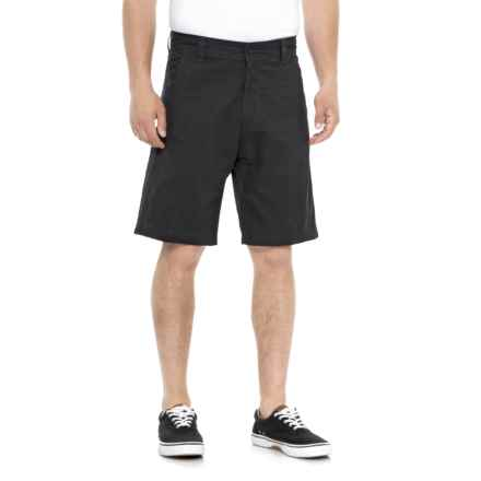 Cherokee Twill Walking Shorts (For Men) in Navy - Overstock