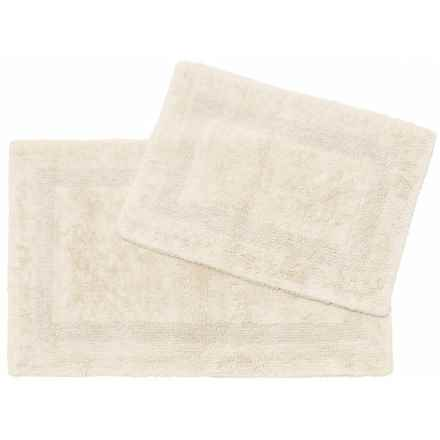 Chesapeake Covington Collection Bath Rug Set - 2-Piece in Ivory - Closeouts