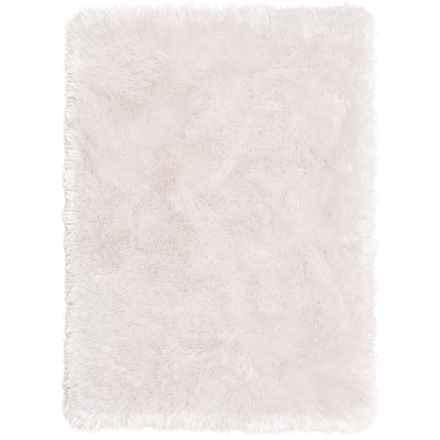 """Chesapeake Memory-Foam Bath Mat - 21x34"""" in White - Closeouts"""