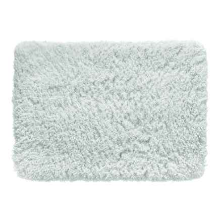 "Chesapeake Shag Memory Foam Bath Mat - 20x34"" in Grey - Closeouts"