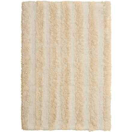 "Chesapeake Stripe Bath Rug - Reversible, 30x50"" in Ivory - Closeouts"
