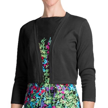 Chetta B Rayon Shrug - 3/4 Sleeve (For Women) in Limeade