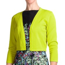 Chetta B Rayon Shrug - 3/4 Sleeve (For Women) in Limeade - Closeouts