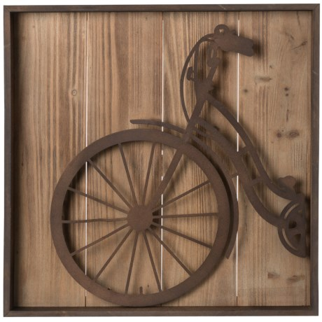 Cheungs rattan metal bicycle wall art save 55